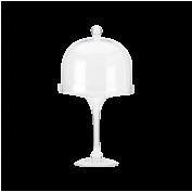 Diamante Tortenplatte mit Glashaube