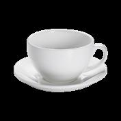 Kaffeetasse und Untertasse Frühstück Basics