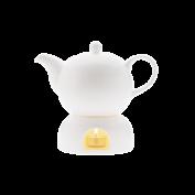 Teekanne mit Rechaud