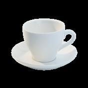 Kaffeetasse und Untertasse Basics
