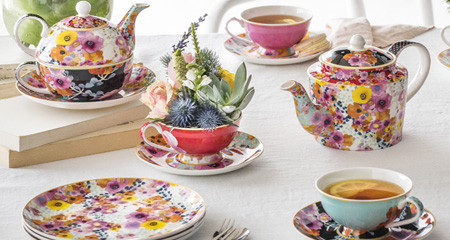 Fine Bone China Bloems