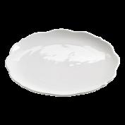 Platte rund White Rose