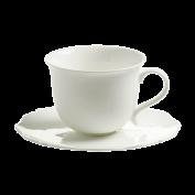 Tasse und Untertasse - Frühstückstasse