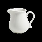 Milchkrug White Rose