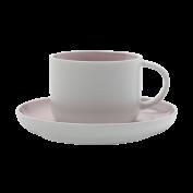 Tasse und Untertasse Tint rose